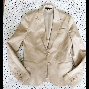 Theory Khaki fitted Blazer Jacket